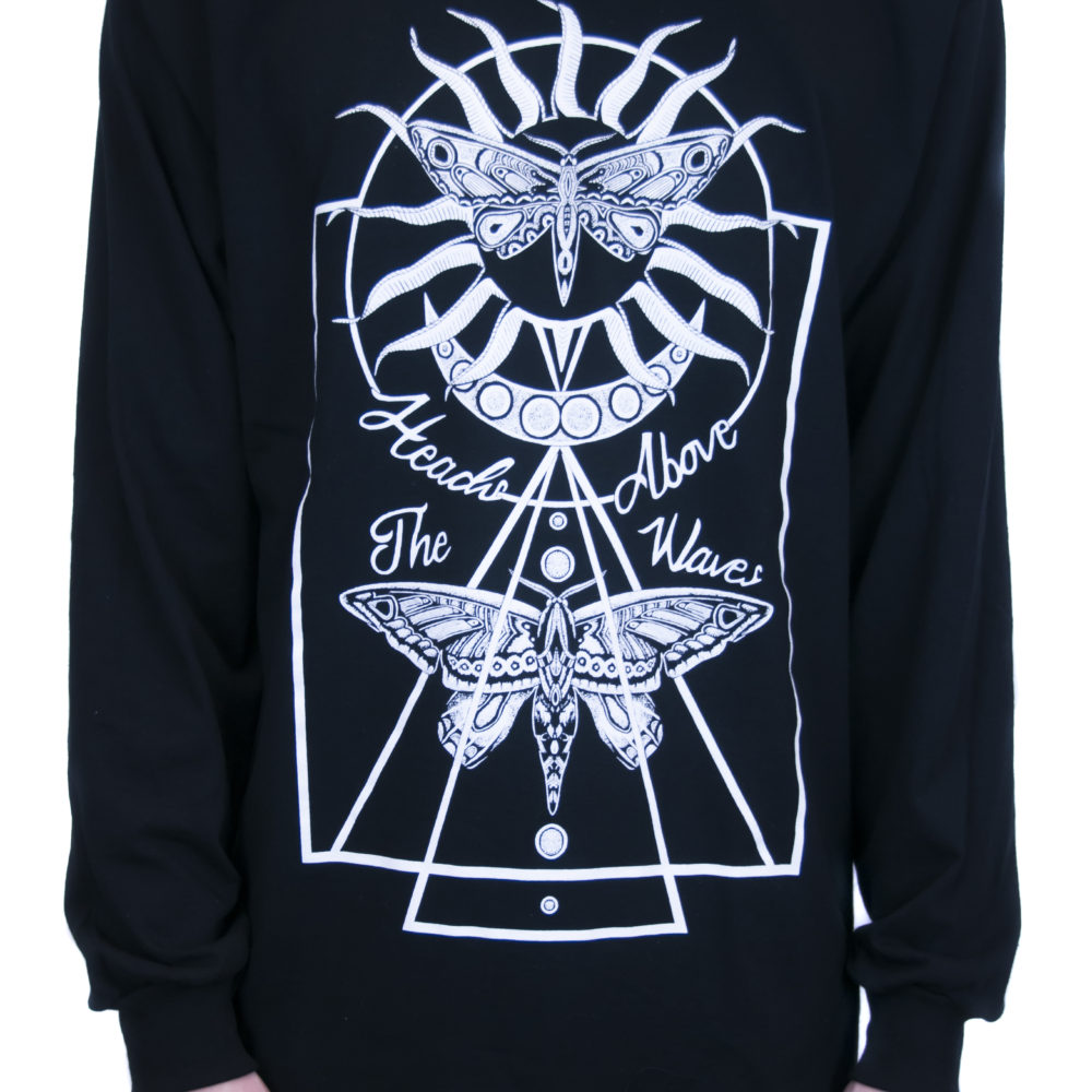 Black Another Night Long Sleeve Tee