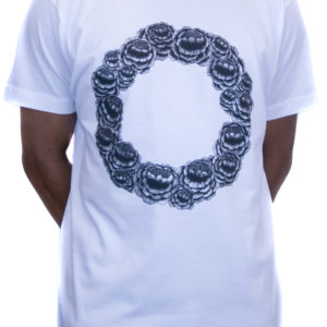 White Love Is The Flower Tee