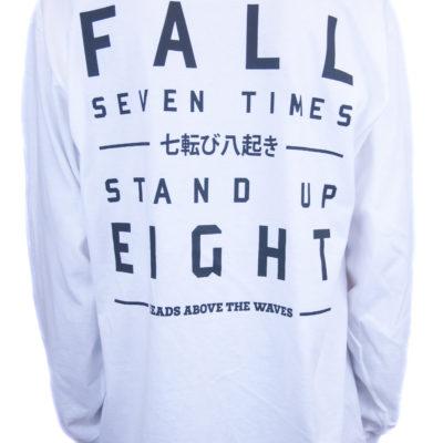 White Fall Seven Times Long Sleeve Tee
