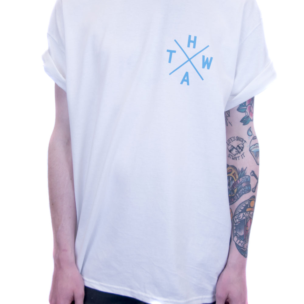 White HATW Essentials Tee