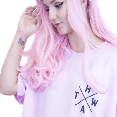 Pink HATW Essentials Tee