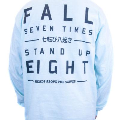 Fall Seven Times Mint Long Sleeve Tee