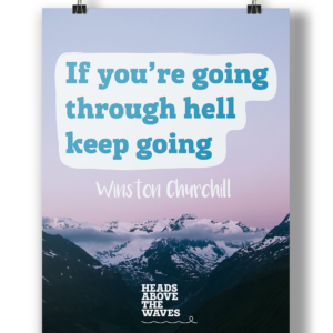 """Keep Going"" Poster"