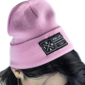 Pink Posi Life Beanie
