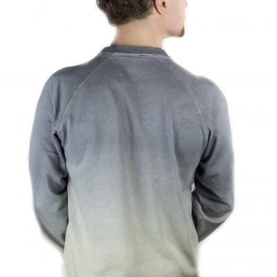 Shades of Grey Waves Sweatshirt Back