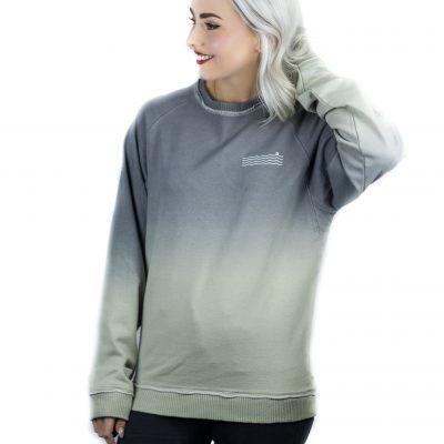 Shades of Grey Waves Sweatshirt