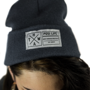 Airforce Blue Posi Life Beanie