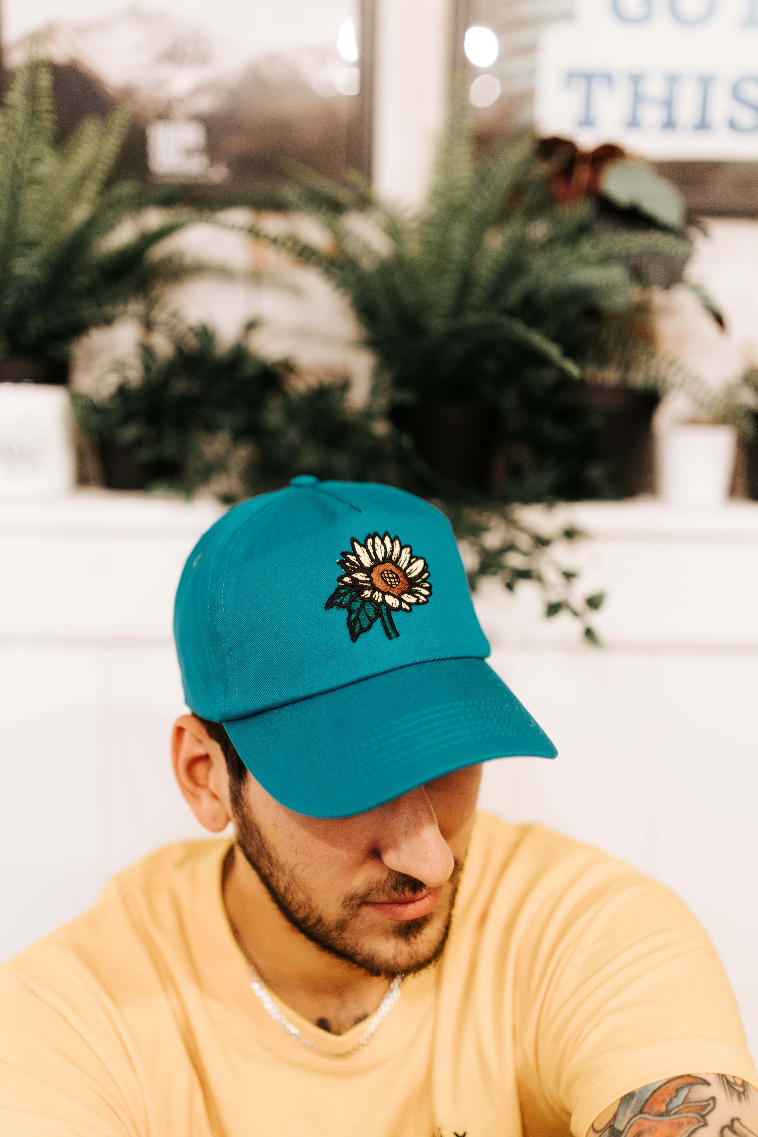 903b52c2 Sunflower Dad Hat – Heads Above The Waves